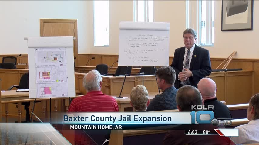 Baxter County Jail Overcrowding_66240105