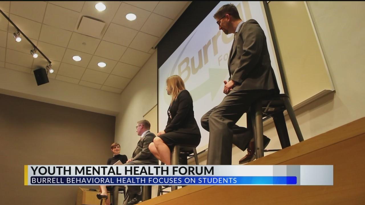 Burrell Forum on Youth Mental Illness