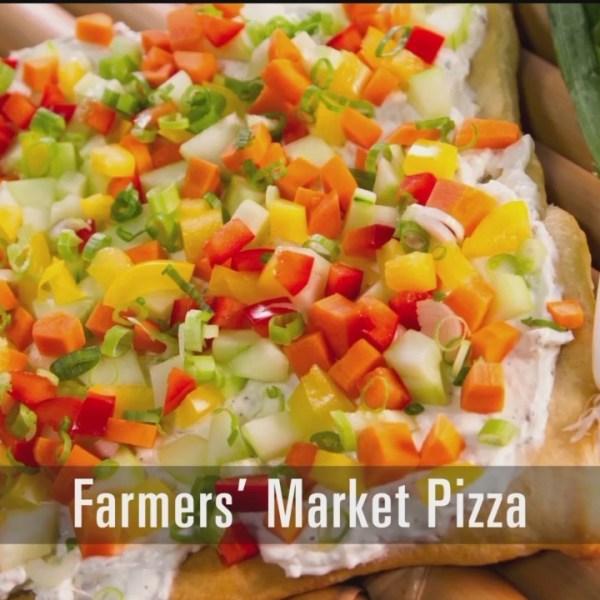 Farmers' Market Pizza - 8/16/18