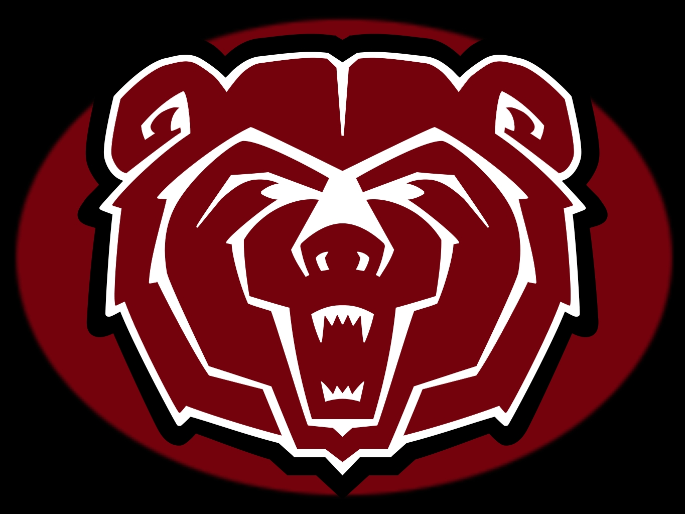 MSU Bears logo black