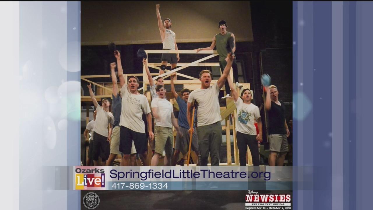 Newsies - Springfield Little Theatre - 8/29/18