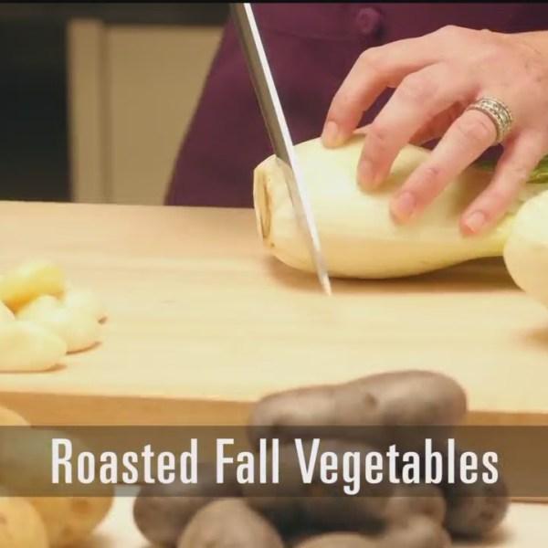 Roasted Fall Vegetables - 8/23/18