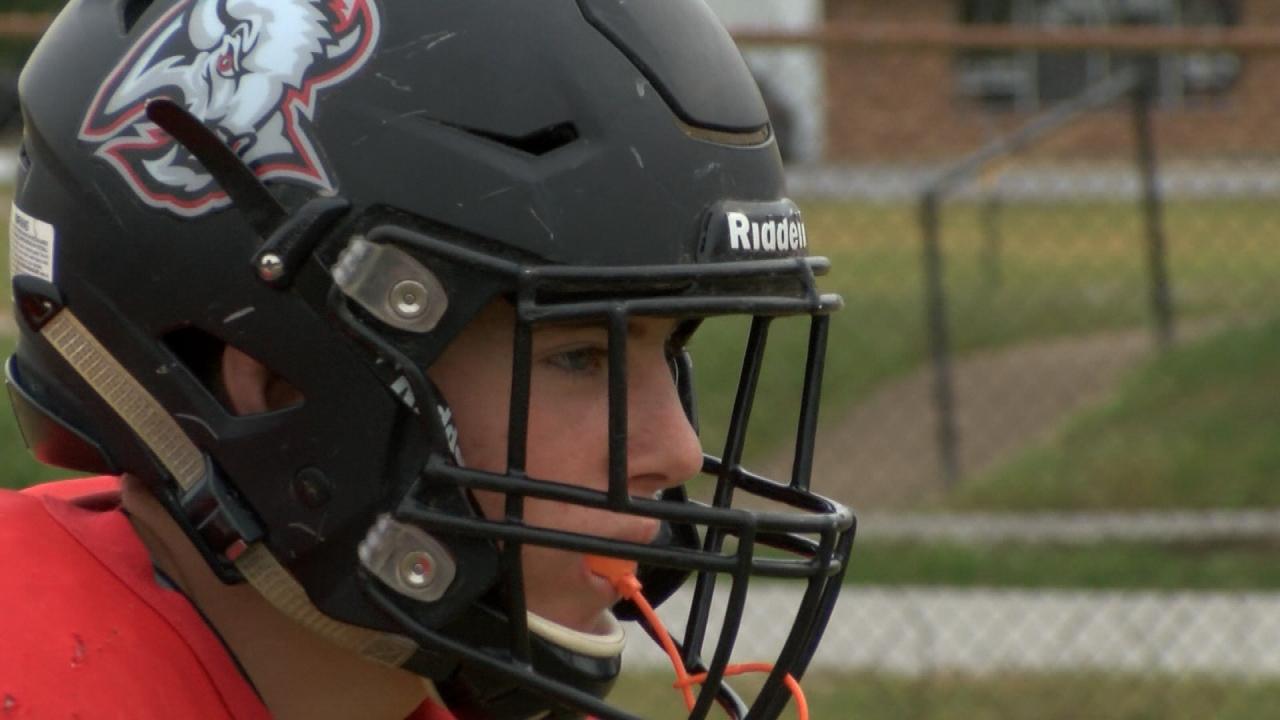 Buffalo Bison football practice