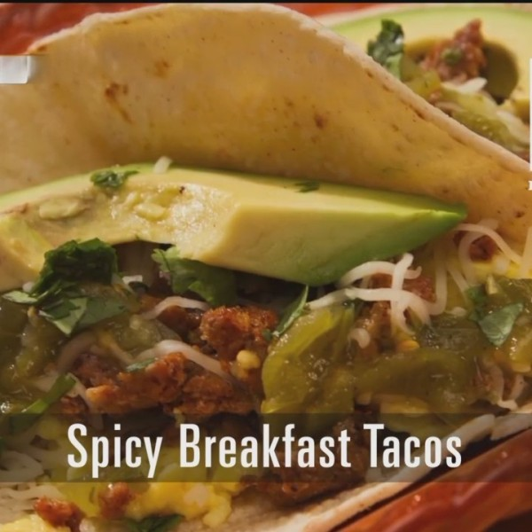 Spicy Breakfest Tacos - 10/1/18