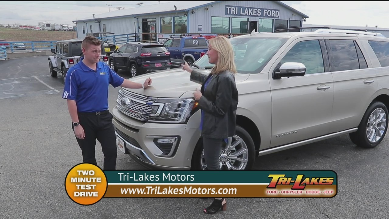 Tri Lakes Motors - Two Minute Test Drive - Ford Expedition
