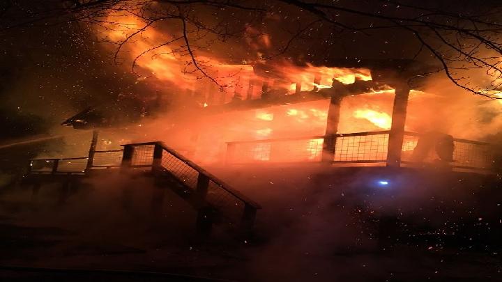 Camdenton House Fire