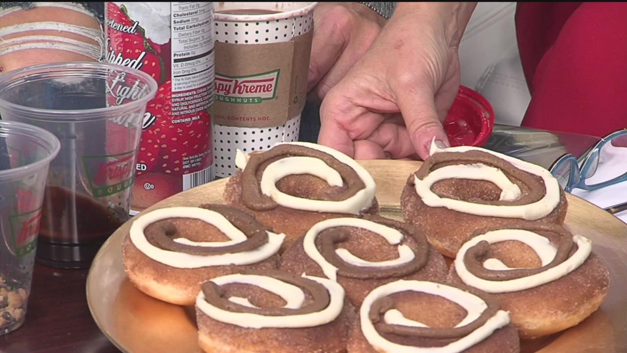 Cinnamon Swirl Doughnuts & S'mores Hot Chocolate - Hot Light Delight - 11/15/18