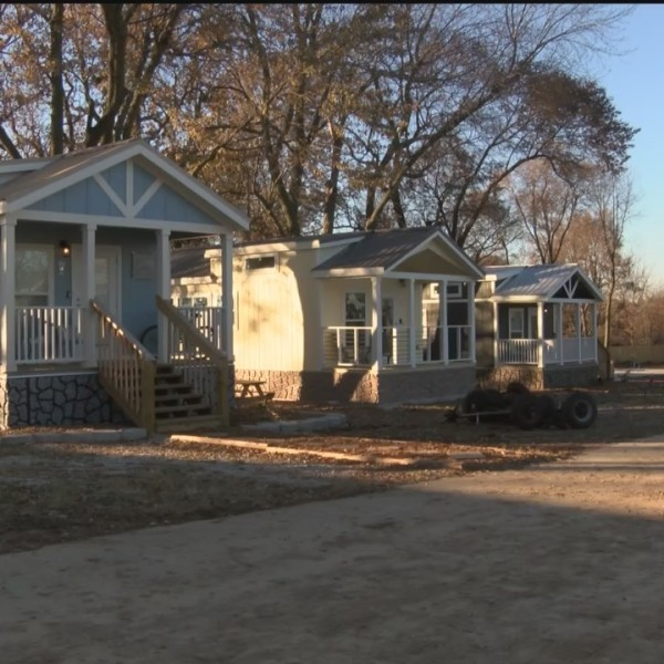 Eden Village Residents Have First Thanksgiving in a Home in Years