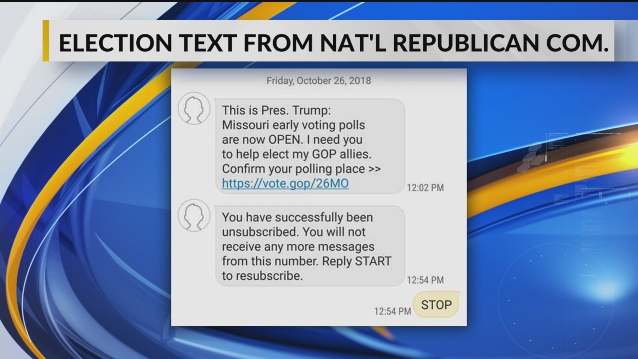 Fact-checking those GOP text messages: There's no such thing