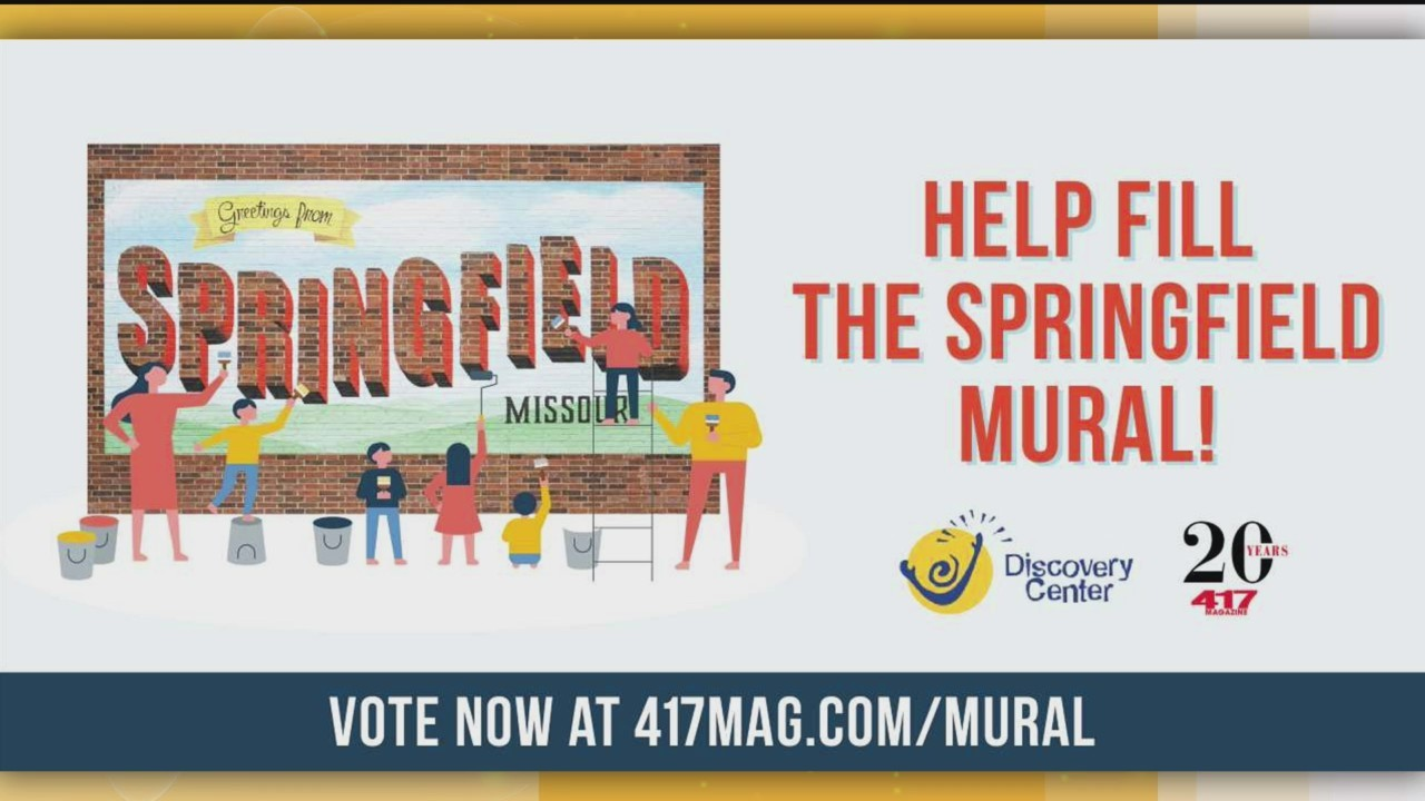 Springfield Mural - 417 Magazine & The Discovery Center - 11/5/18