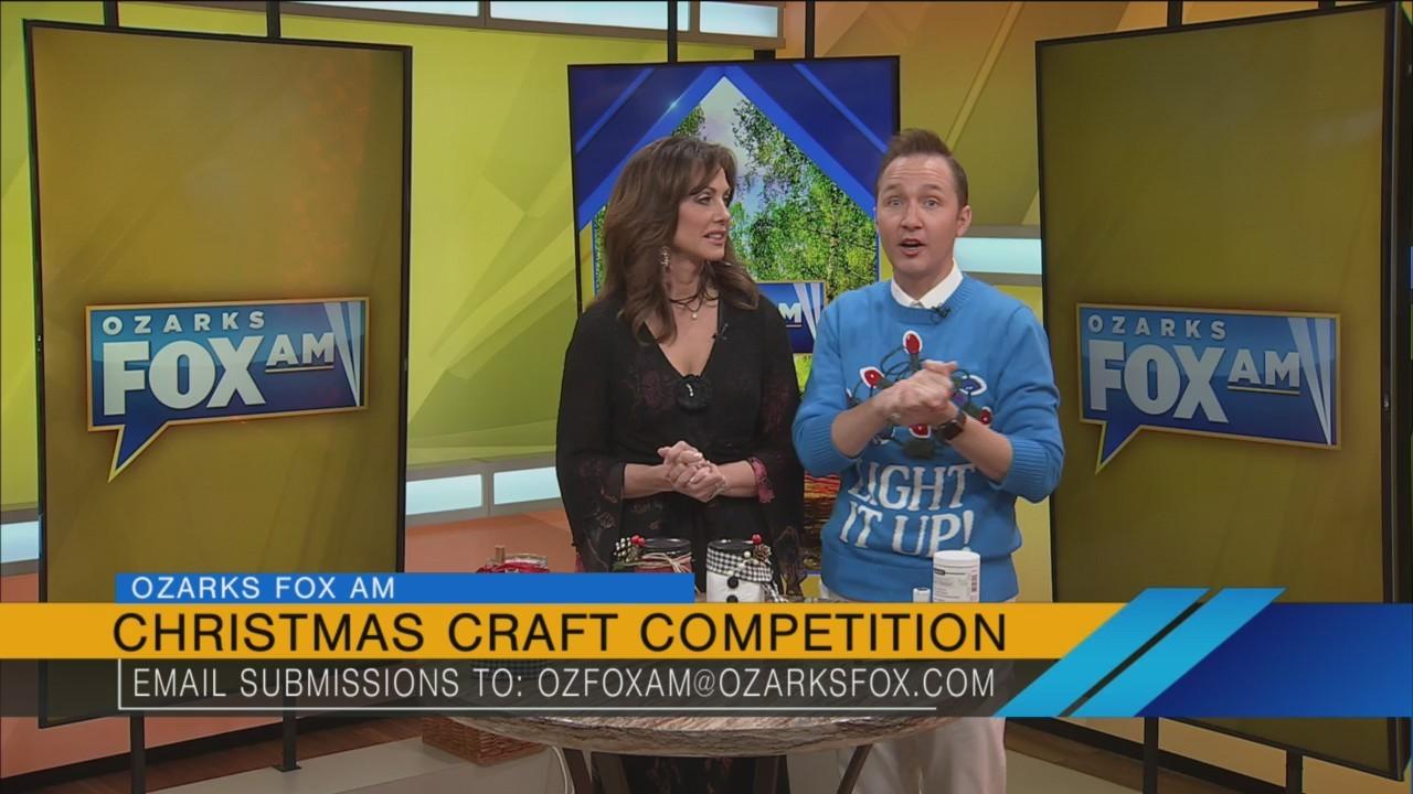 Ozarks FOX AM-Kelly's Jar Christmas Craft-11/29/18