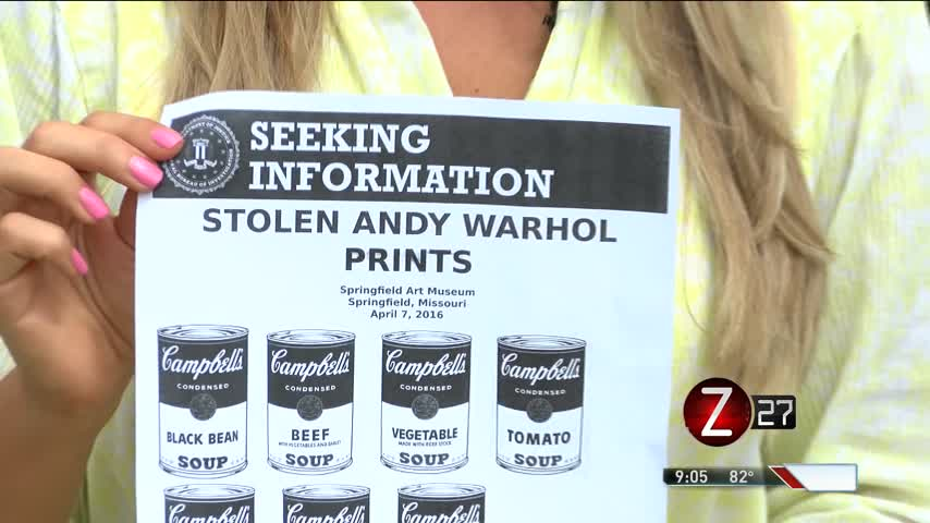 Springfield Art Museum Ups Security After Warhol Theft_54498553