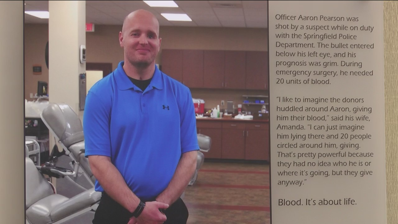 Blood Drive to Honor Former Ofc. Aaron Pearson