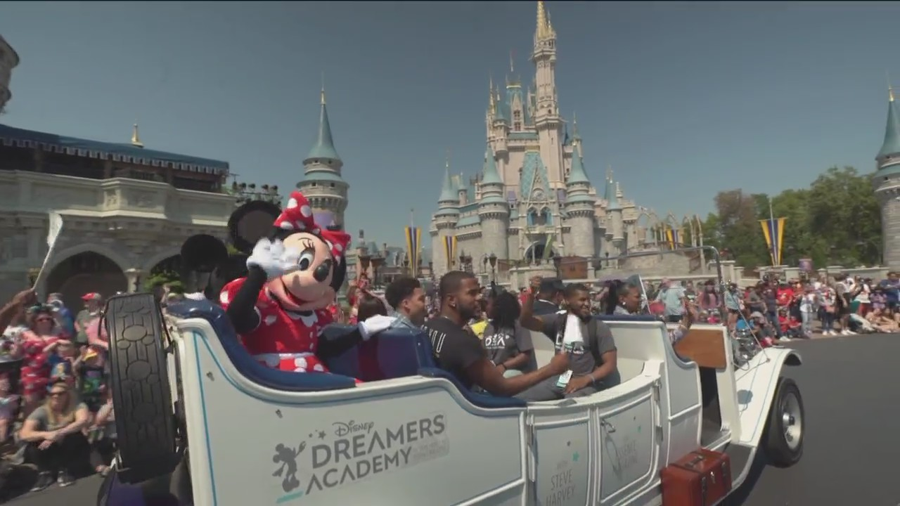 Branson Student Attends Disney Dreamers Academy
