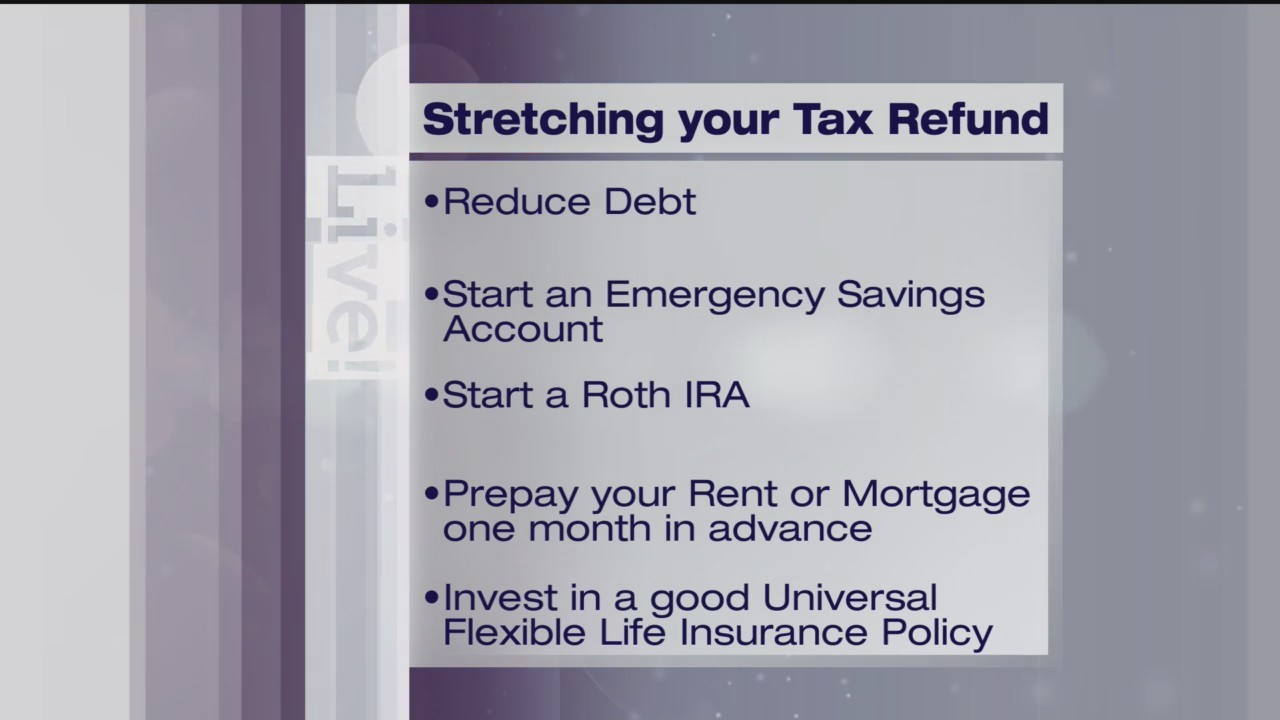 Stretching Your Tax Refund - Dollars & Sense - 3/19/19