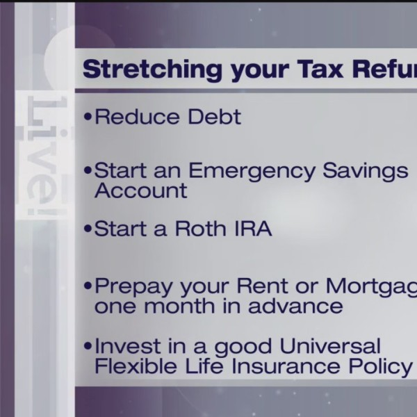 Stretching Your Tax Refund - Dollars & Sense - 3/19/19