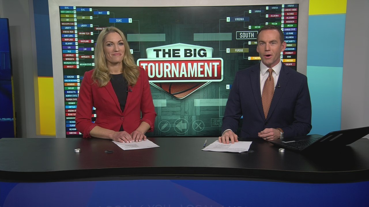 WATCH: 'The Big Tournament Live' previews Saturday's Elite 8 matchups