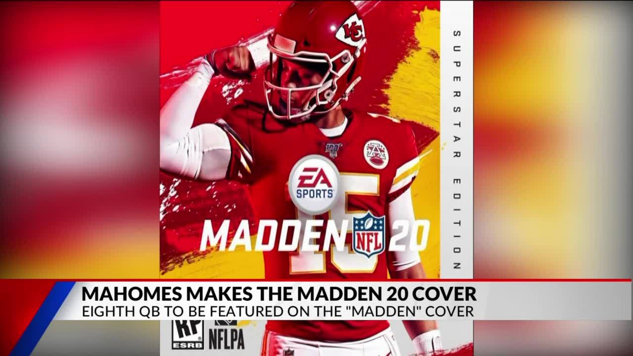 Chiefs Mahomes To Be Featured On Madden Cover