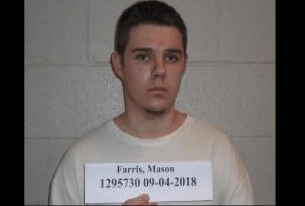Mason Farris Mugshot