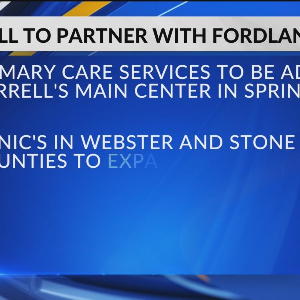 New partnership between Burrell Behavioral Health and Fordland Clinic