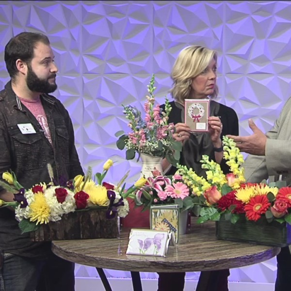 Mother's Day with Linda's Flowers - 5/3/19