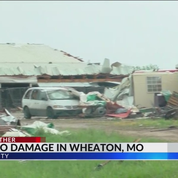 Possible Tornado Damage in Wheaton