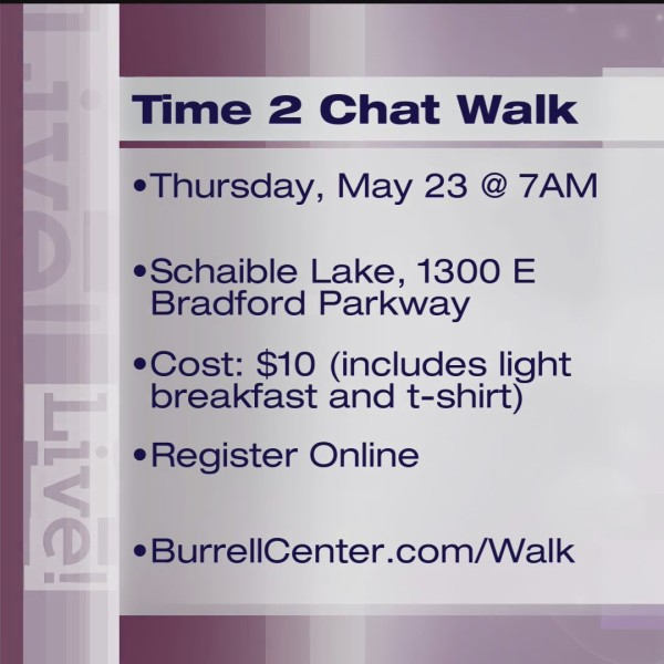 Time 2 Chat - Burrell Behavioral Health - 5/16/19