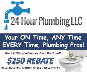 24 Hour Plumbing 300x250