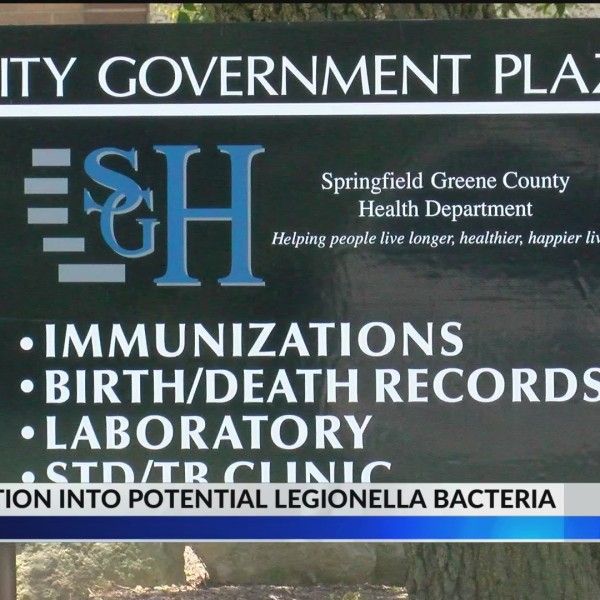 Springfield health officials advise of potential exposure to Legionella bacteria
