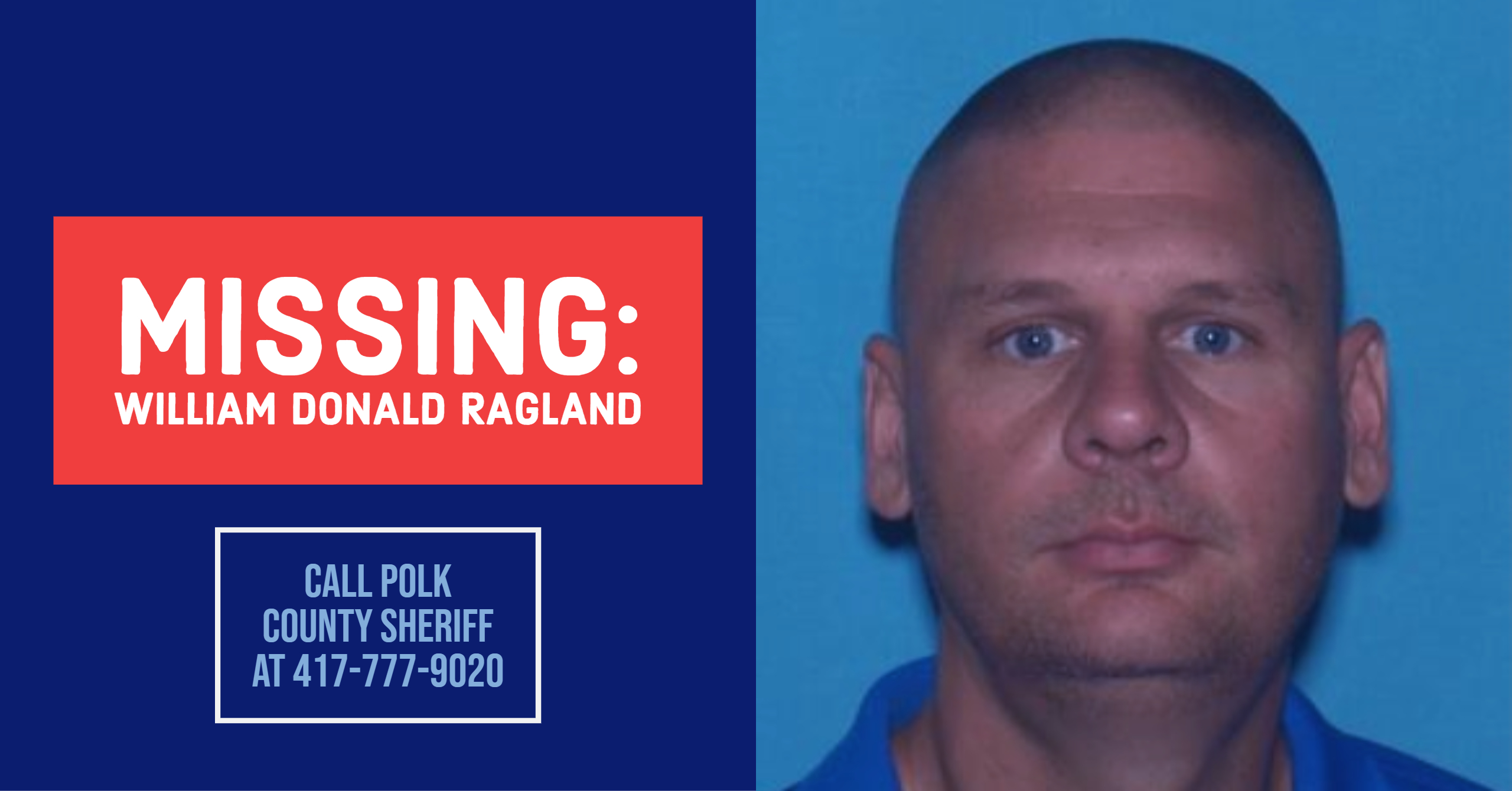 MISSING PERSON: Polk County Sheriff looking for 41-year-old