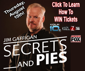 Jim Gaffigan Ticket Giveaway
