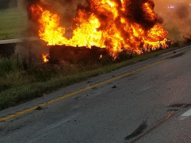 Fuel truck crash closes US 60 east of Springfield | KOLR
