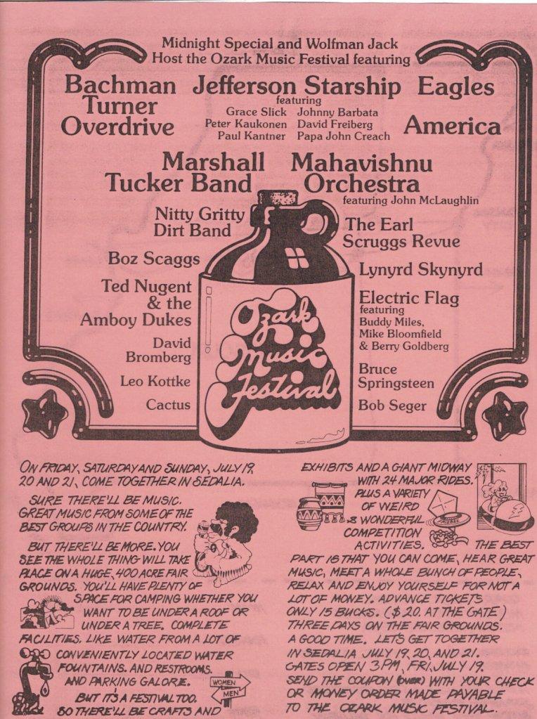 Missouri's Woodstock:' a not-so-successful followup festival