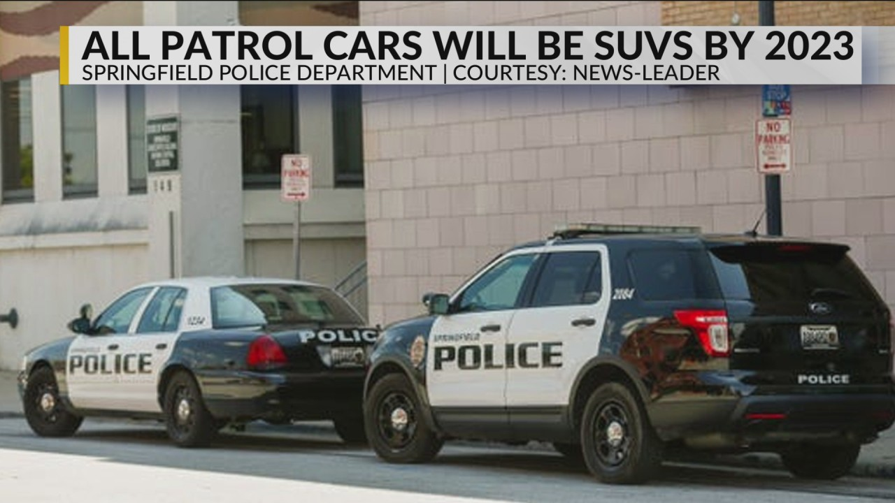 Springfield police cars will all be SUVs by 2023 | KOLR
