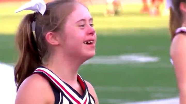 Cheerleader With Down Syndrome Inspires Others On And Off The