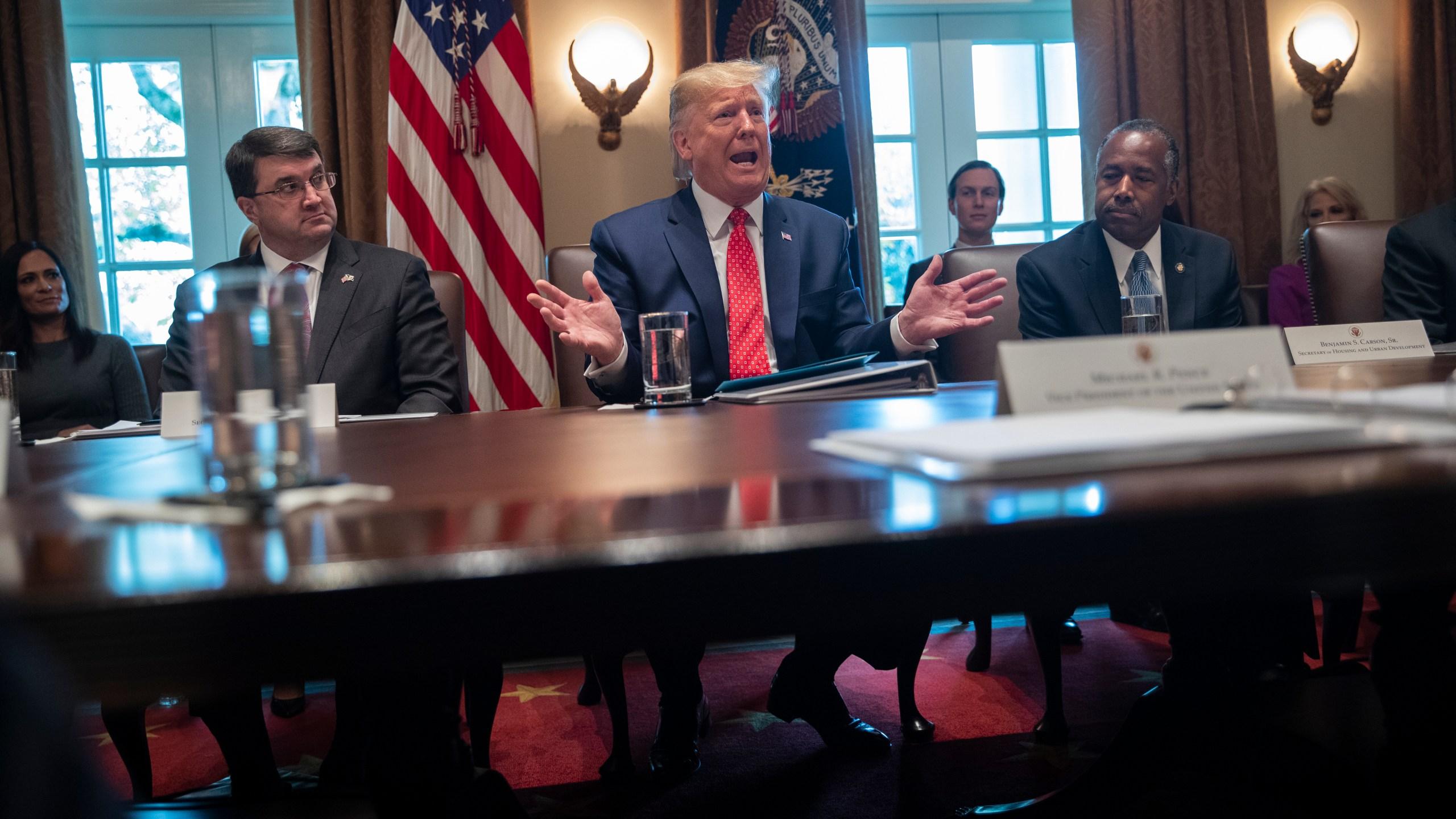 Donald Trump, Ben Carson, Robert Wilkie