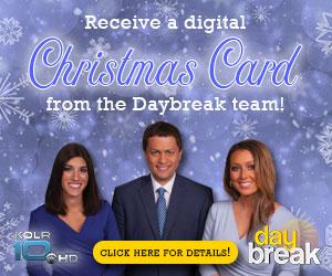 Daybreak Christmas Card