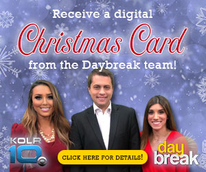 Daybreak Christmas Card