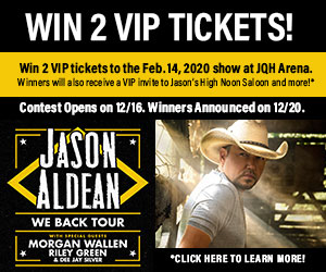 Jason Aldean We Back Tour