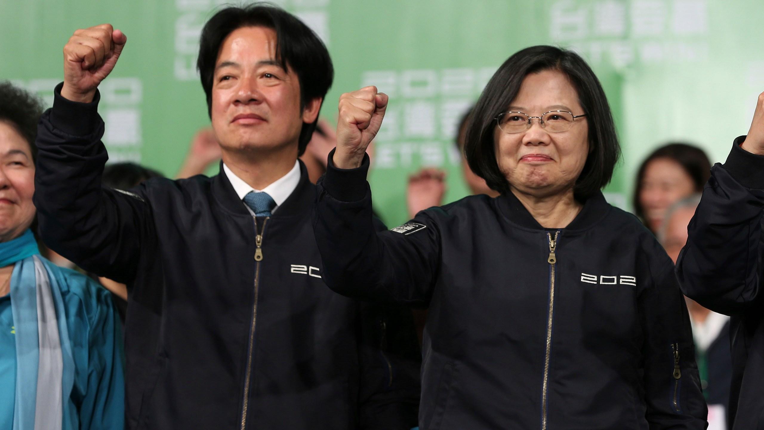 Tsai Ing-wen, William Lai