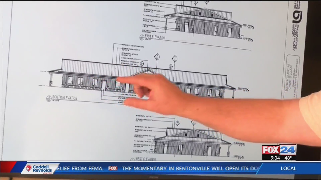 diagram of bunkhouse camp siloam to rebuild bunkhouse destroyed in tornadoes kolr  camp siloam to rebuild bunkhouse