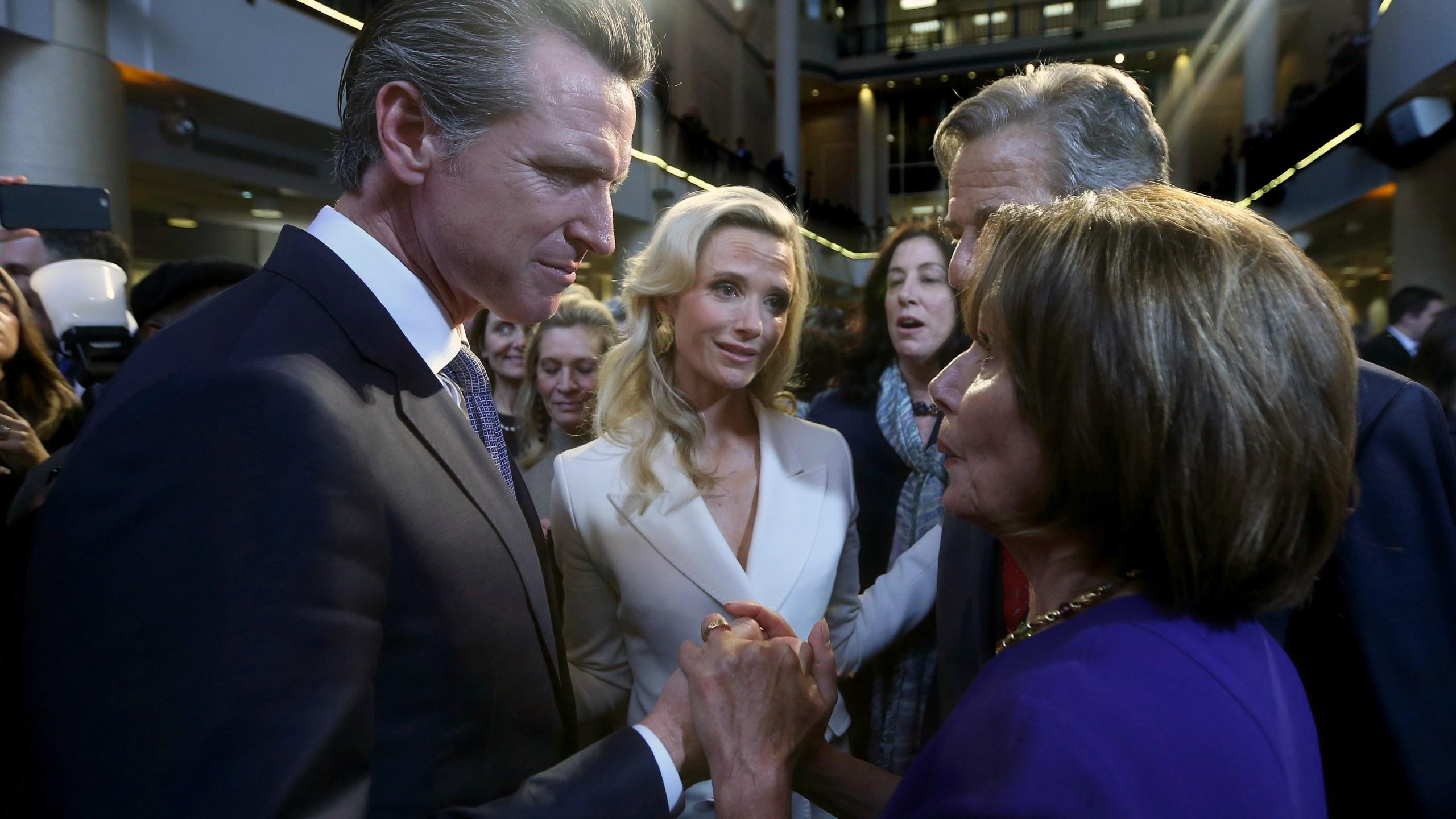 Gavin Newsom, Nancy Pelosi