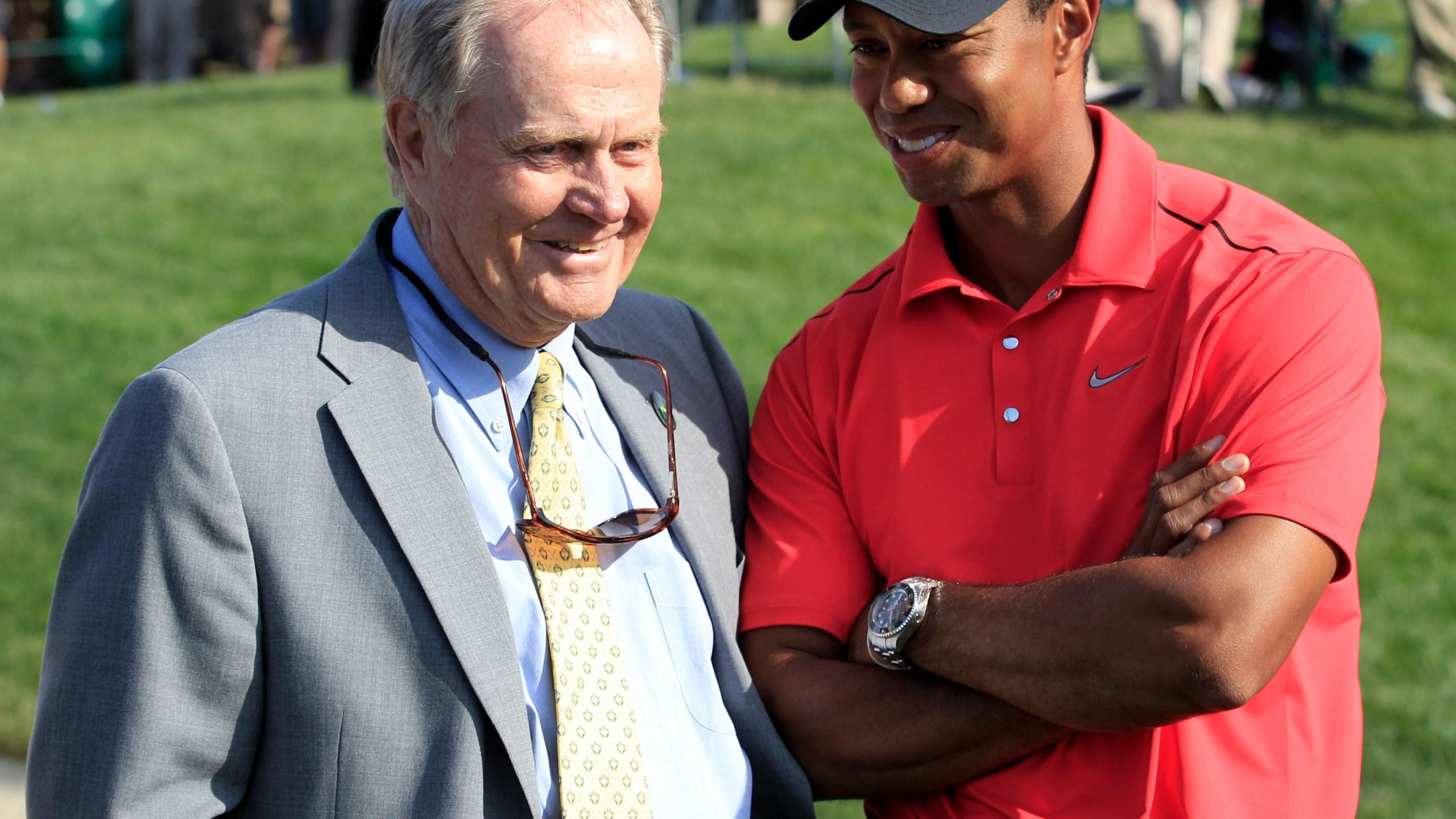 Jack Nicklaus, Tiger Woods