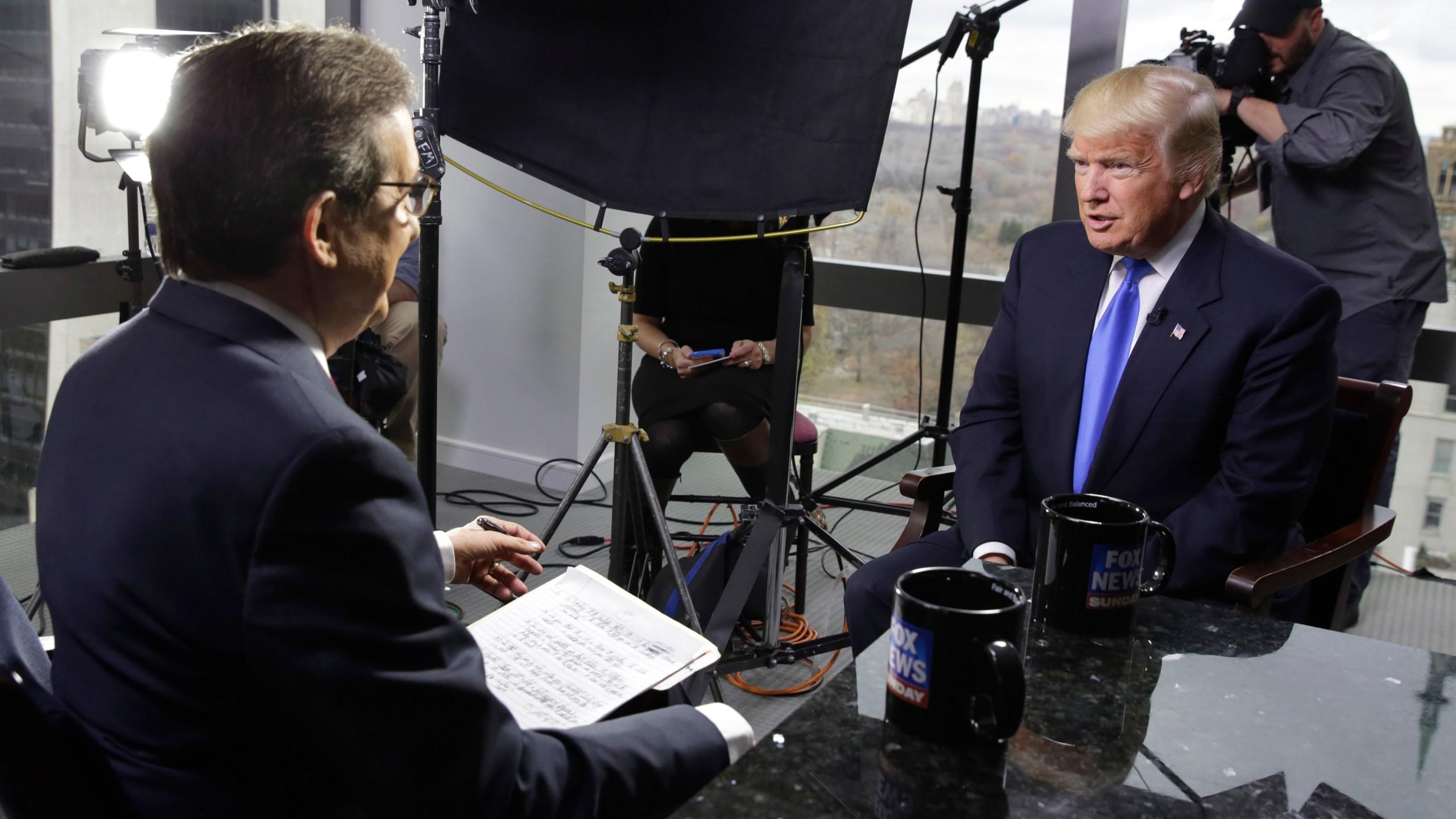 Donald Trump, Chris Wallace