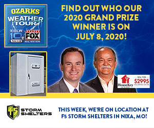 Weather Tour F5 Storm Shelter