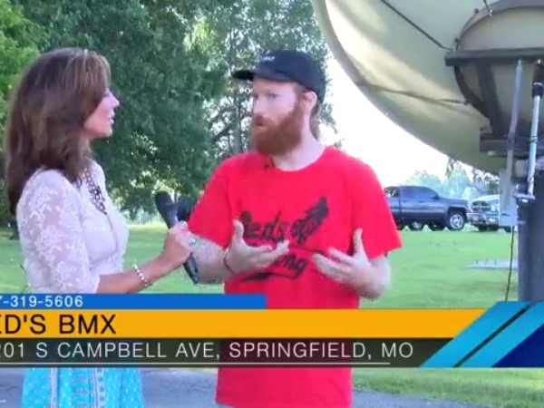Man Show Reds BMX Bikes