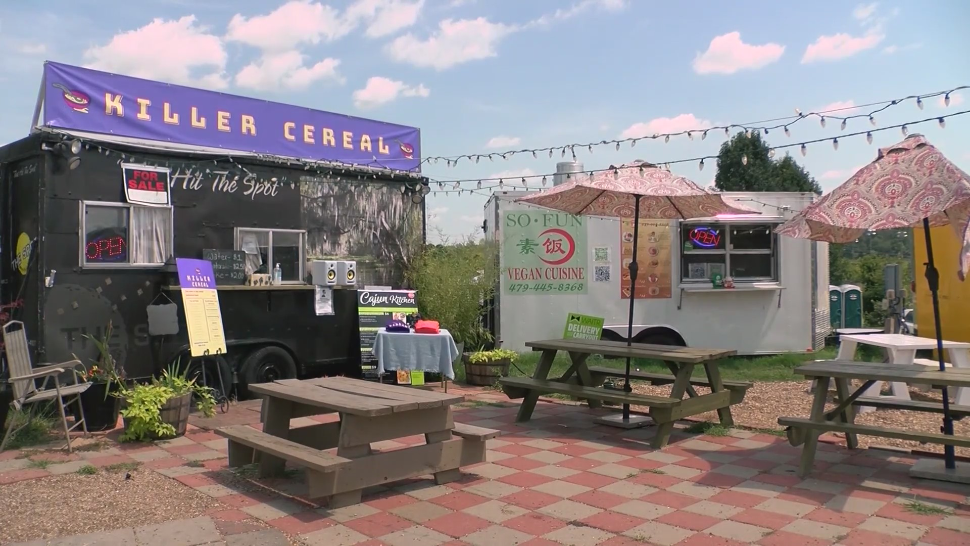 Student opens 'Killer Cereal Food Truck' in Fayetteville