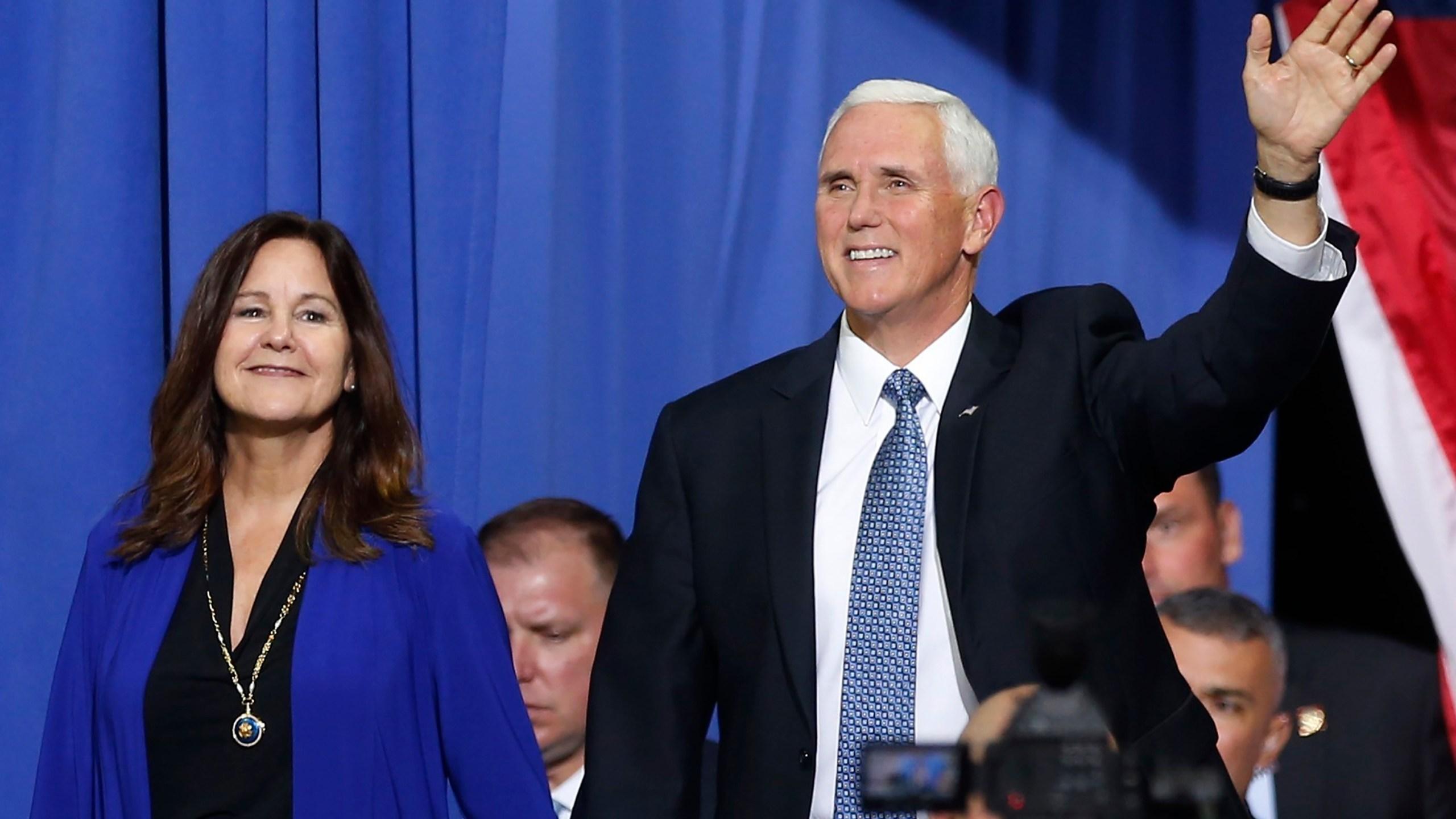 Mike Pence, Karen Pence