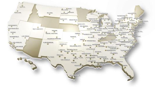 Nexstar Map