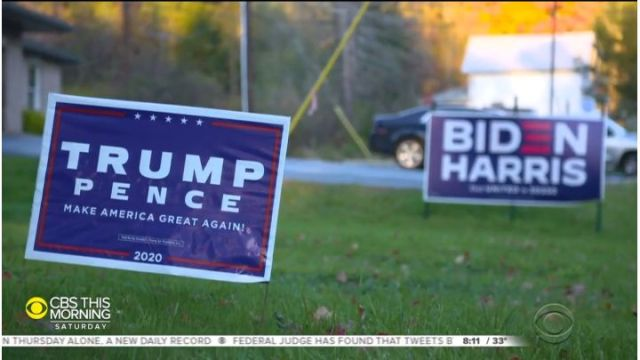 Donald Trump Hillary Clinton campaign election limited edition yard signs